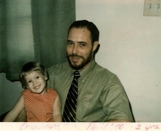 Daddy and me, 1970