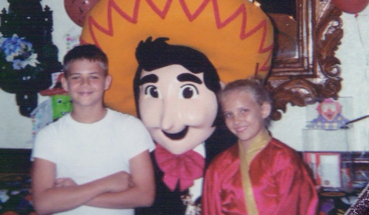 Halloween, 2003, at Panchos!