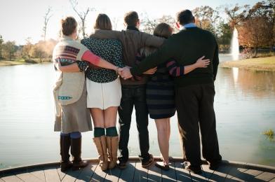Back of Family