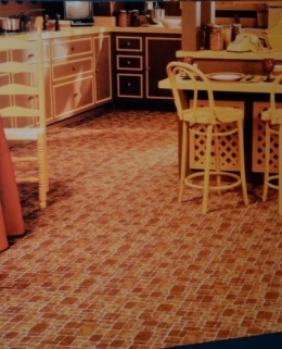 Photo-of-Printed-Kitchen-Carpet